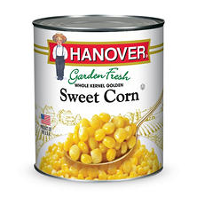 Hanover Garden Fresh Whole Kernel Golden Sweet Corn (106 oz. can)
