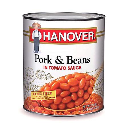 Hanover Pork & Beans (114 oz.)