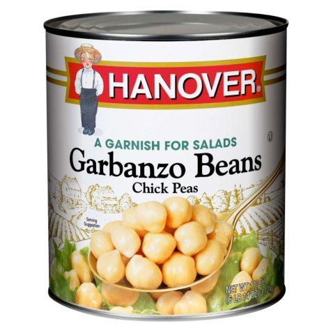 Hanover Garbanzo Beans Chick Peas (106 oz.)