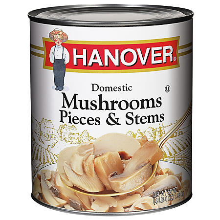 Hanover Mushroom Pieces and Stems (68 oz.)