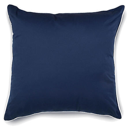 IZOD Classic Stripe European Square Pillow