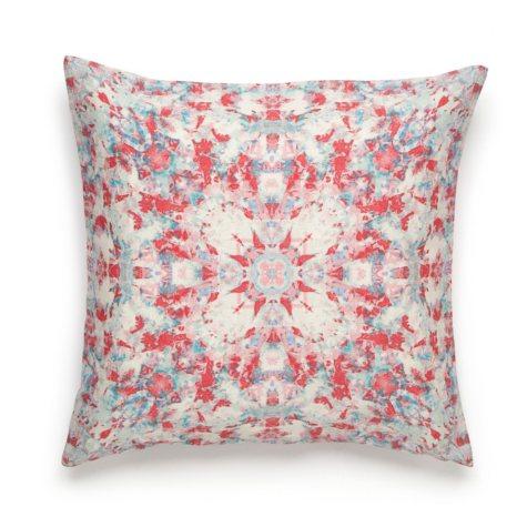 Amy Sia Painterly Kaleidoscope Square Decorative Pillow