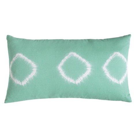 Amy Sia Artisan Decorative Pillow, Green Tie-Dye