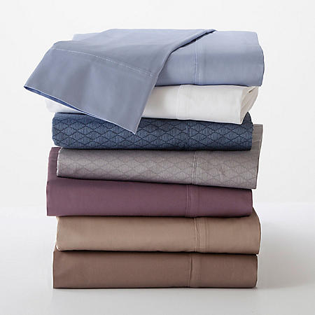 Martex 400-Thread-Count Solid Sheet Set (Assorted Colors)