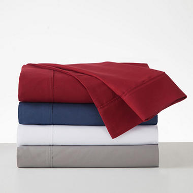 IZOD Microfiber Solid Color Sheet Set (Assorted Colors)