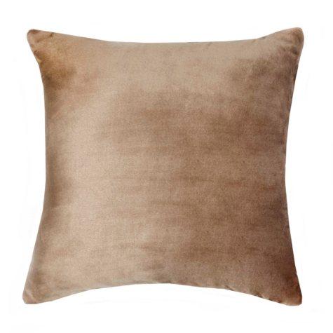 Vellux Plush/Sherpa Caramel Decorative Pillow