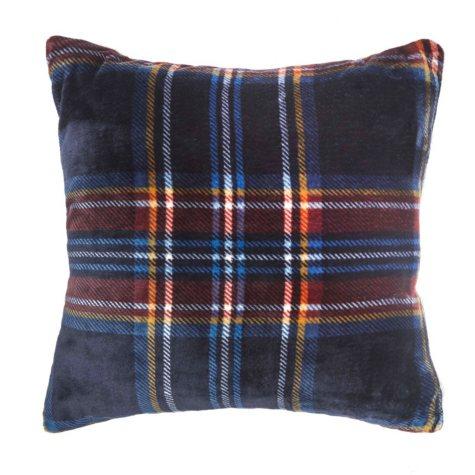 Vellux Mackenzie Square Navy Decorative Pillow