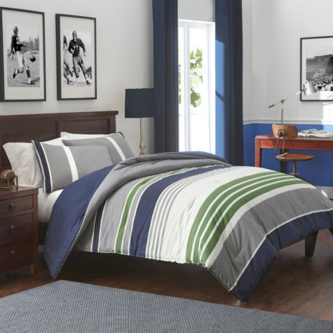 IZOD Liam Indigo Comforter Set