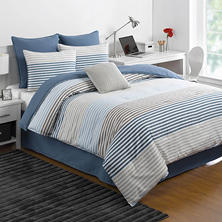 IZOD Chambray Stripe Comforter Set