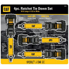 CAT Ratchet Tie Downs (4 pk.)
