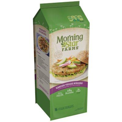Morningstar Farms Garden Veggie Patties 16 ct Sams Club