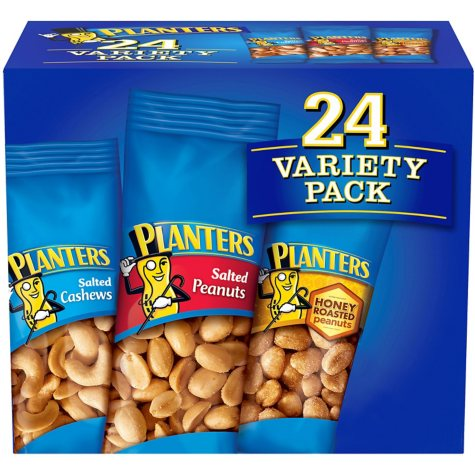 Planters Nut Variety Pack (24 ct.)