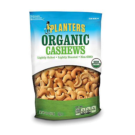 Planters Organic Cashews (18 oz.)