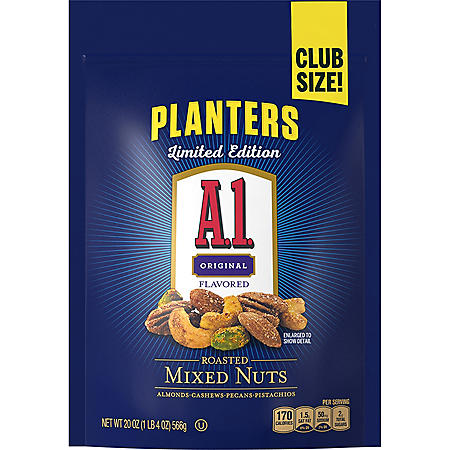 Planters A1 Mixed Nuts (20 oz.)