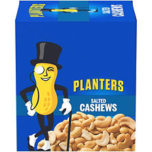 Planters Salted Cashews (1.5 oz., 18 ct.)