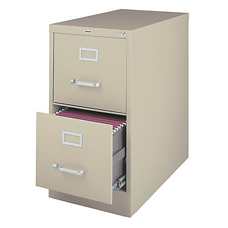 Hirsh - 2-Drawer Commercial Vertical File Cabinet 26.5""