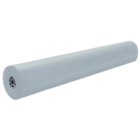 Spectra Duo Finish Art Kraft Paper Roll, 36 Inches x 1000 Feet, Gray