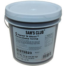 Case Sale: Chocolate Spread N Gloss Icing (24 lbs.)