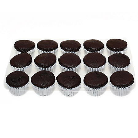 Case Sale: Uniced Chocolate Cupcakes (150 ct.)
