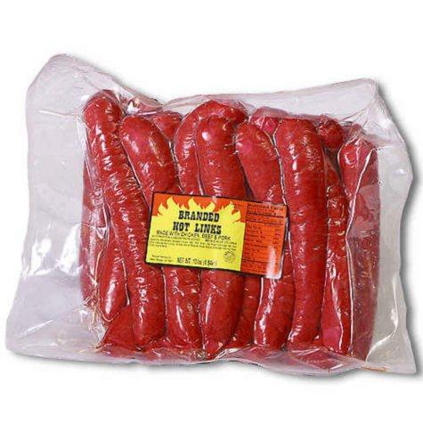 Branded Hot Links (10 lb.)