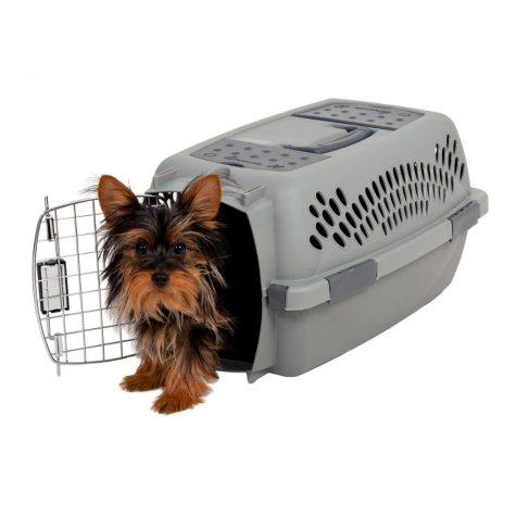 Aspen Pet Traditional Pet Porter, Light Gray (Choose Your Size)