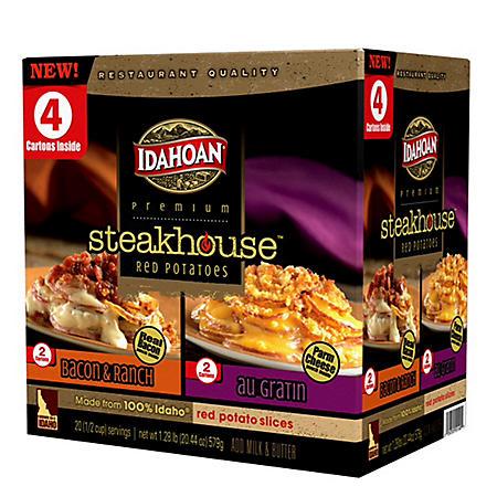 Idahoan Steakhouse Potatoes - 20.42 oz. - 4 pk.