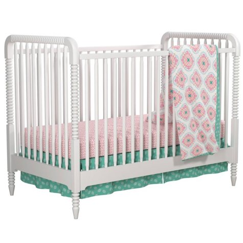 Little Seeds 4-Piece Crib and Toddler Bedding Set, Cora