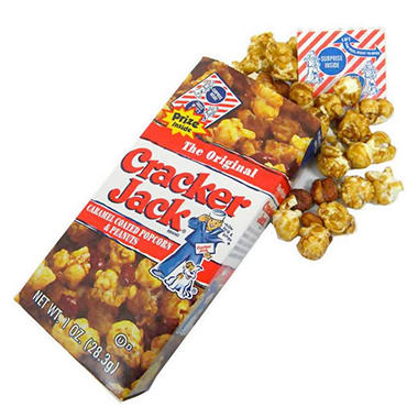 The Original Cracker Jack 1 Oz Boxes 25 Ct Sam S Club