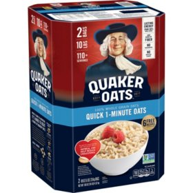 Quaker Quick 1-Minute Oats (5 lb., 2 ct.)