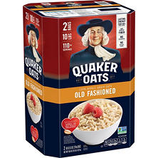 Quaker Oats Old Fashioned Oatmeal - 2 /5 lb.
