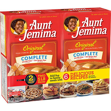 Aunt jemima original pancake and waffle mix 5lb 2pk sams club aunt jemima original pancake and waffle mix 5lb 2pk ccuart Images