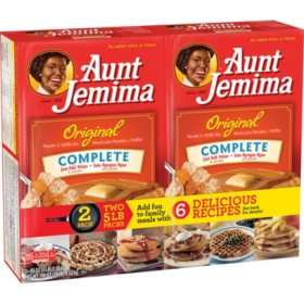 Aunt Jemima Original Pancake and Waffle Mix (5lb, 2pk.)