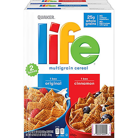 Quaker Life Cereal, Variety Pack (42.6 oz.)