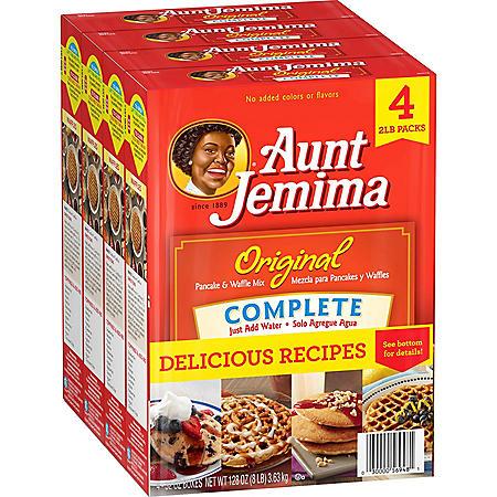 Aunt Jemima Original Complete Pancake Mix (8 lbs., 4 pk.)