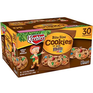 Keebler M&M Cookies (1.6 oz., 30 ct.)