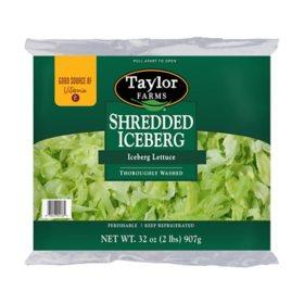 Taylor Farms Shredded Iceberg Lettuce (32 oz.)