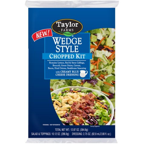 Taylor Farms Wedge Style Chopped Salad Kit (12.87 oz.)
