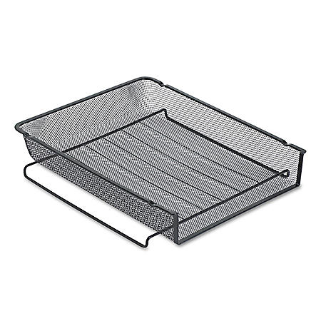 "Rolodex"" Mesh Stackable Front Load Letter Tray"