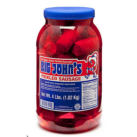 Big John's Pickled Sausage (4 lbs.)