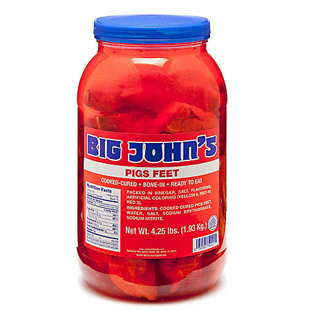 Big John's Pigs Feet (4.25 lbs.)