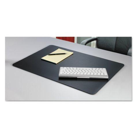 Artistic - Rhinolin II Desk Pad with Microban,17 x 12 - Black