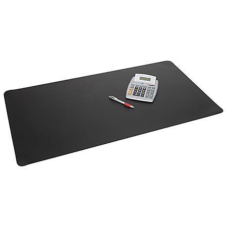 Artistic - Rhinolin II Desk Pad with Microban, 24 x 17 -  Black