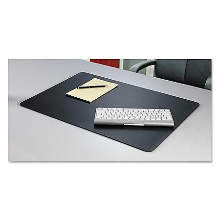 Artistic - Rhinolin II Desk Pad with Microban, 36 x 24 -  Black