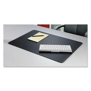 Artistic - Rhinolin II Desk Pad with Microban, 36 x 24 -  Black