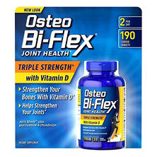 Osteo Bi-Flex Triple Strength with Vitamin D (190 ct.)