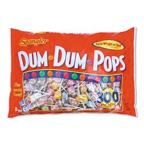 OFFLINE-Spangler Dum Dum Pops (300 ct.)