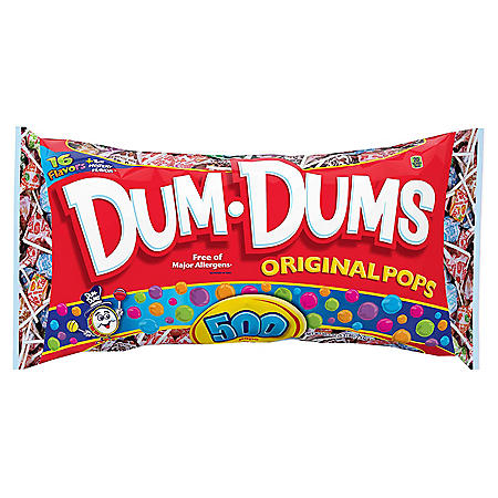 Dum Dum Original Pops (500 ct.)