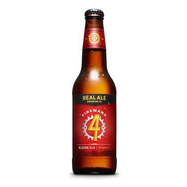 Real Ale Firemans #4 Blonde Ale (12 fl. oz. bottle, 6 pk.)