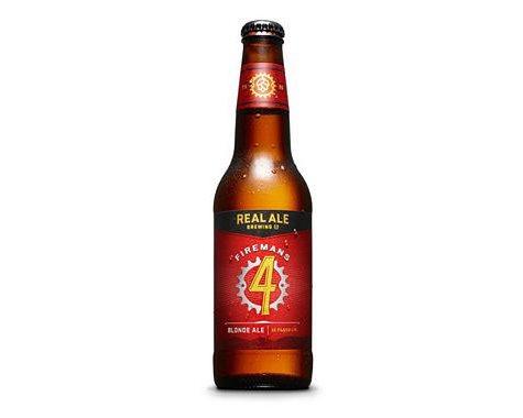Real Ale Firemans #4 Blonde Ale (12 fl. oz. bottle, 6 pk.)