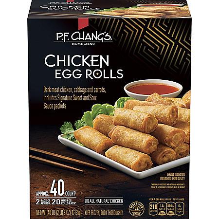 PF Chang's Mini Chicken Egg Rolls (40 ct.)